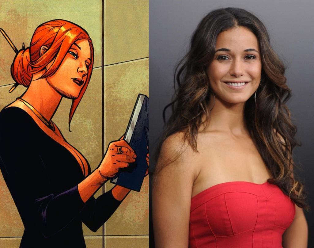 Lana Lang será interpretada por Emmanuelle Chriqui en Superman & Lois, un spin-off del Arrowverse. Imagen: Comic Vine/pinterest.com
