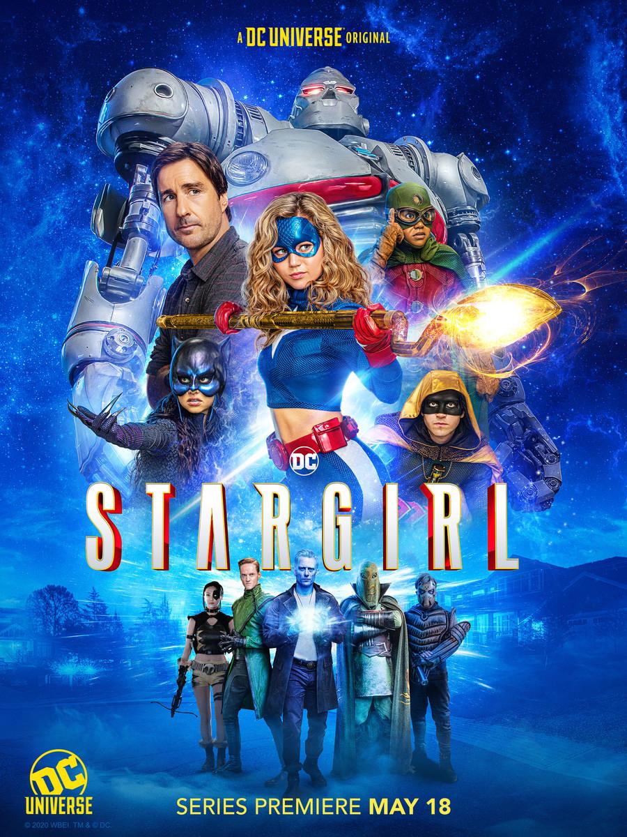Póster de Stargirl en DC Universe. Imagen: dccomics.com