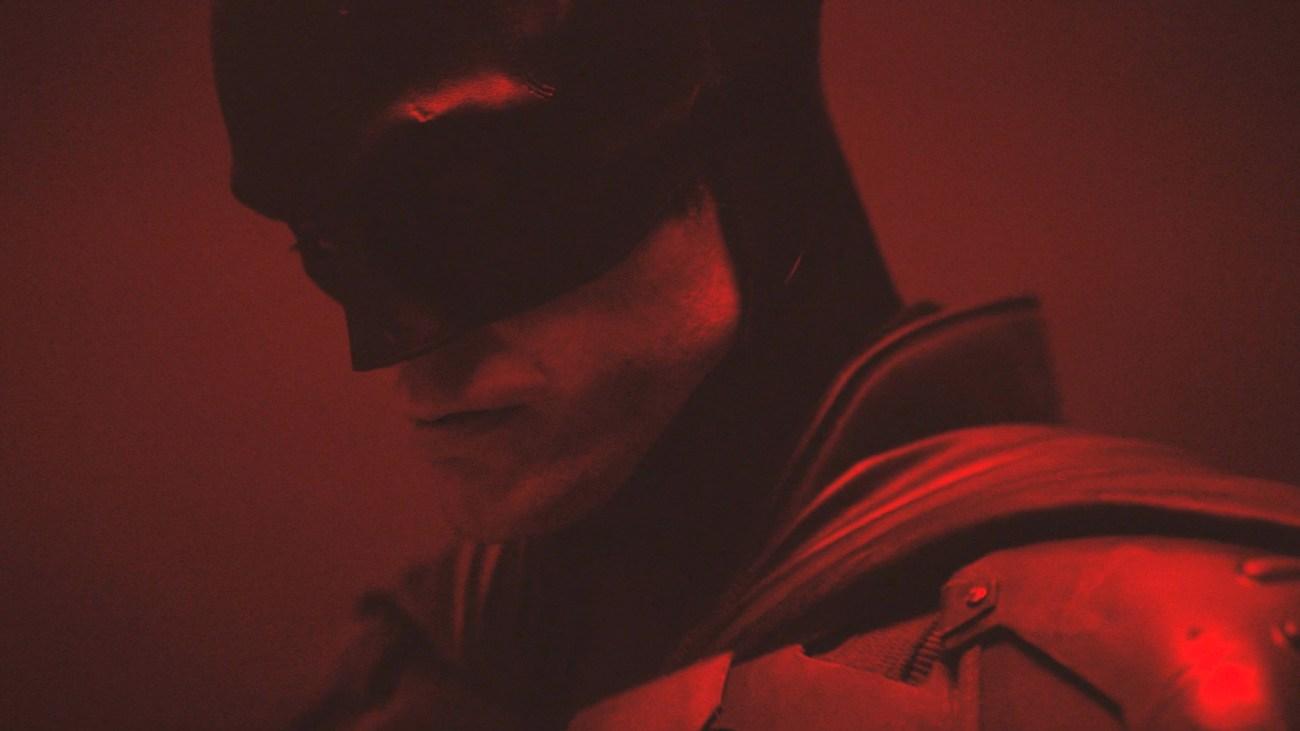 Robert Pattinson en la prueba de cámara de The Batman (2021). Imagen: Matt Reeves/Vimeo