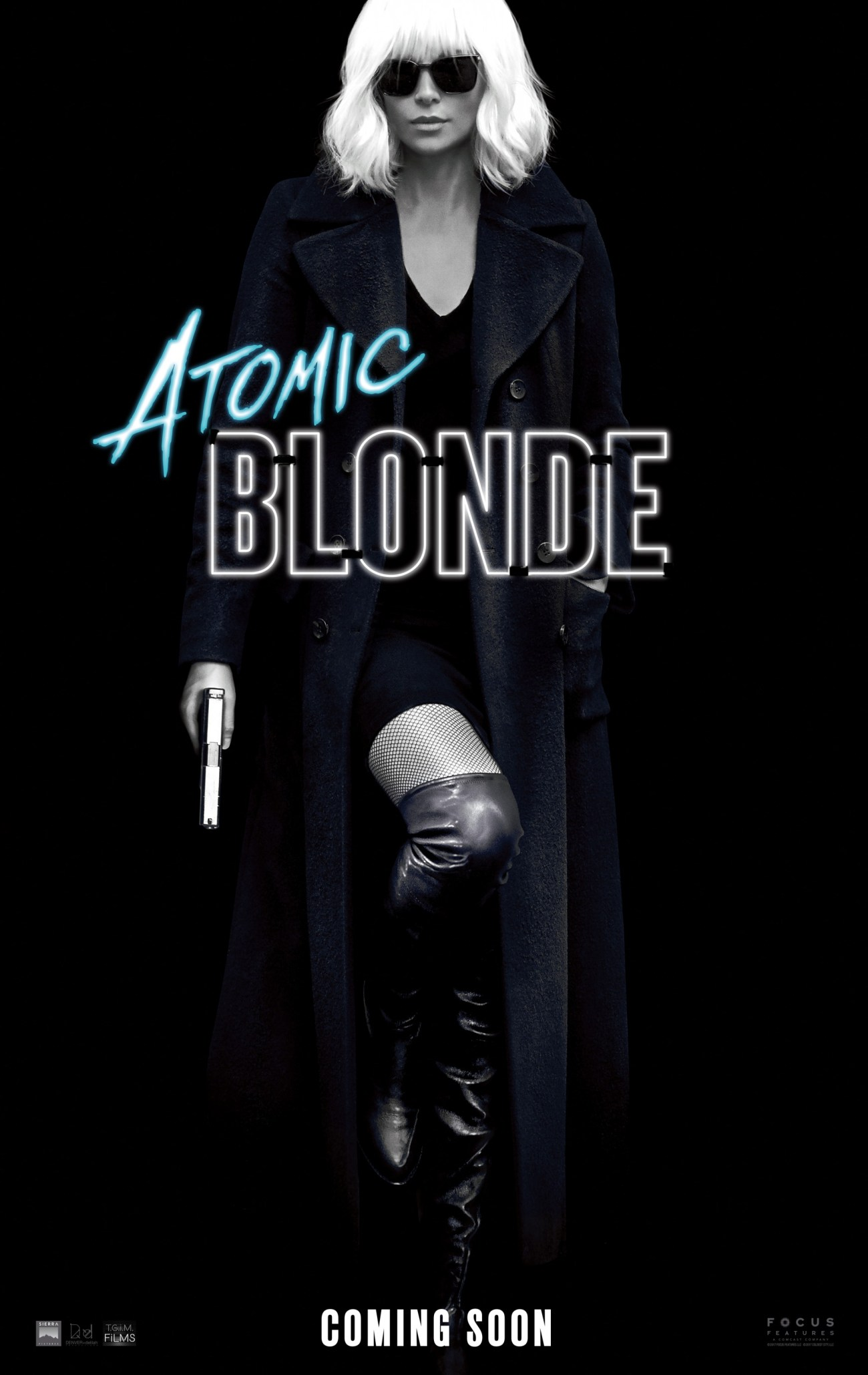 Póster de Atomic Blonde (2017). Imagen: impawards.com