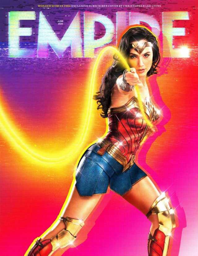 Wonder Woman (Gal Gadot) en la portada exclusiva para subscriptores de Empire (junio de 2020). Imagen: Empire Magazine