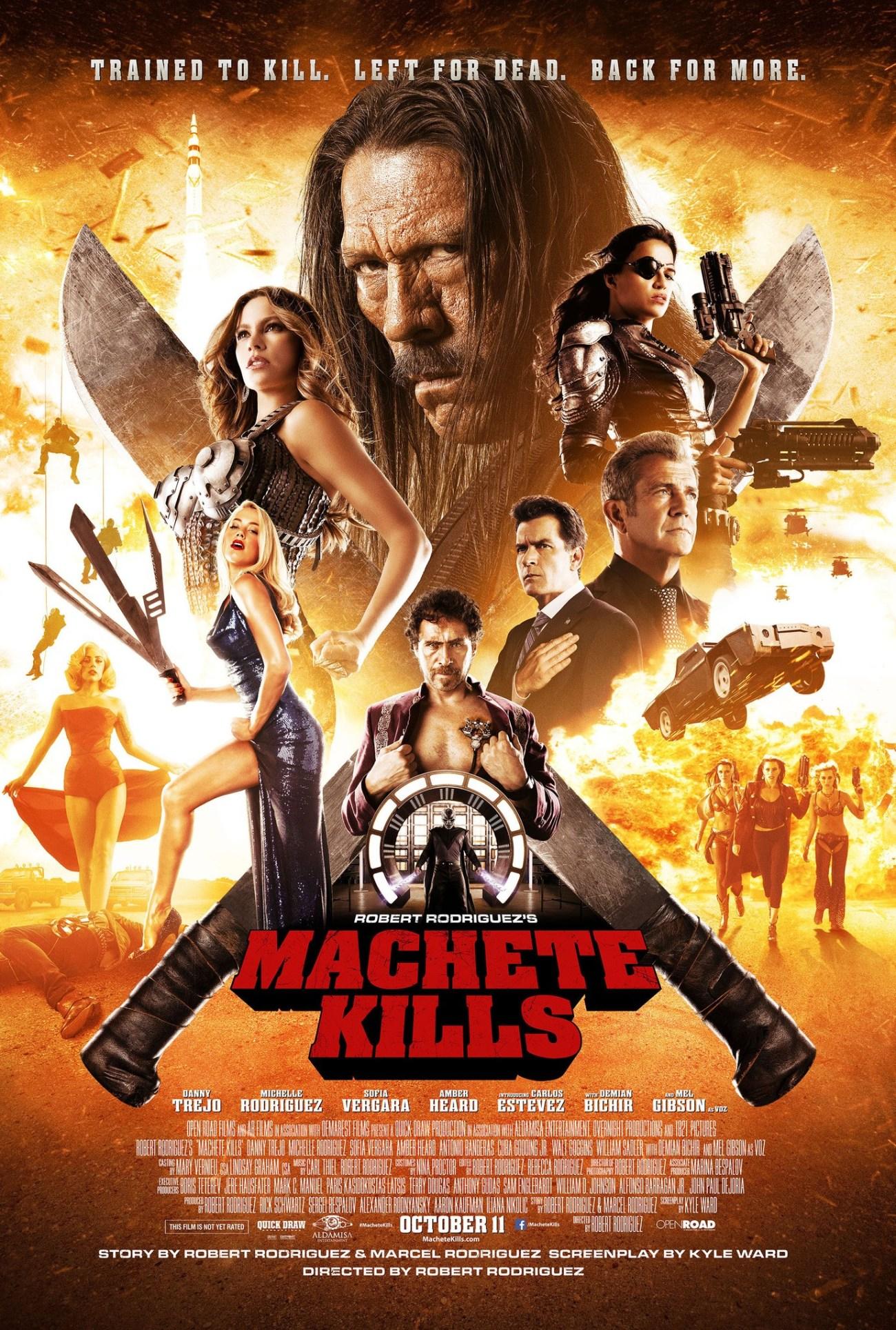 Póster de Machete Kills (2013). Imagen: impawards.com