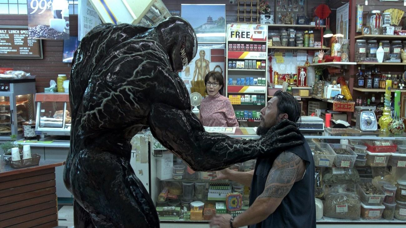 El Protector Letal (Tom Hardy) en Venom (2018). Imagen: fanart.tv