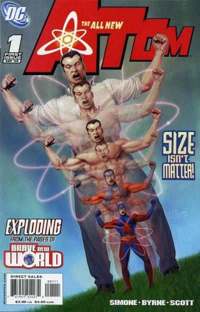 Ryan Choi/The Atom en la portada de The All-New Atom #1 (septiembre de 2006). Imagen: Comic Vine