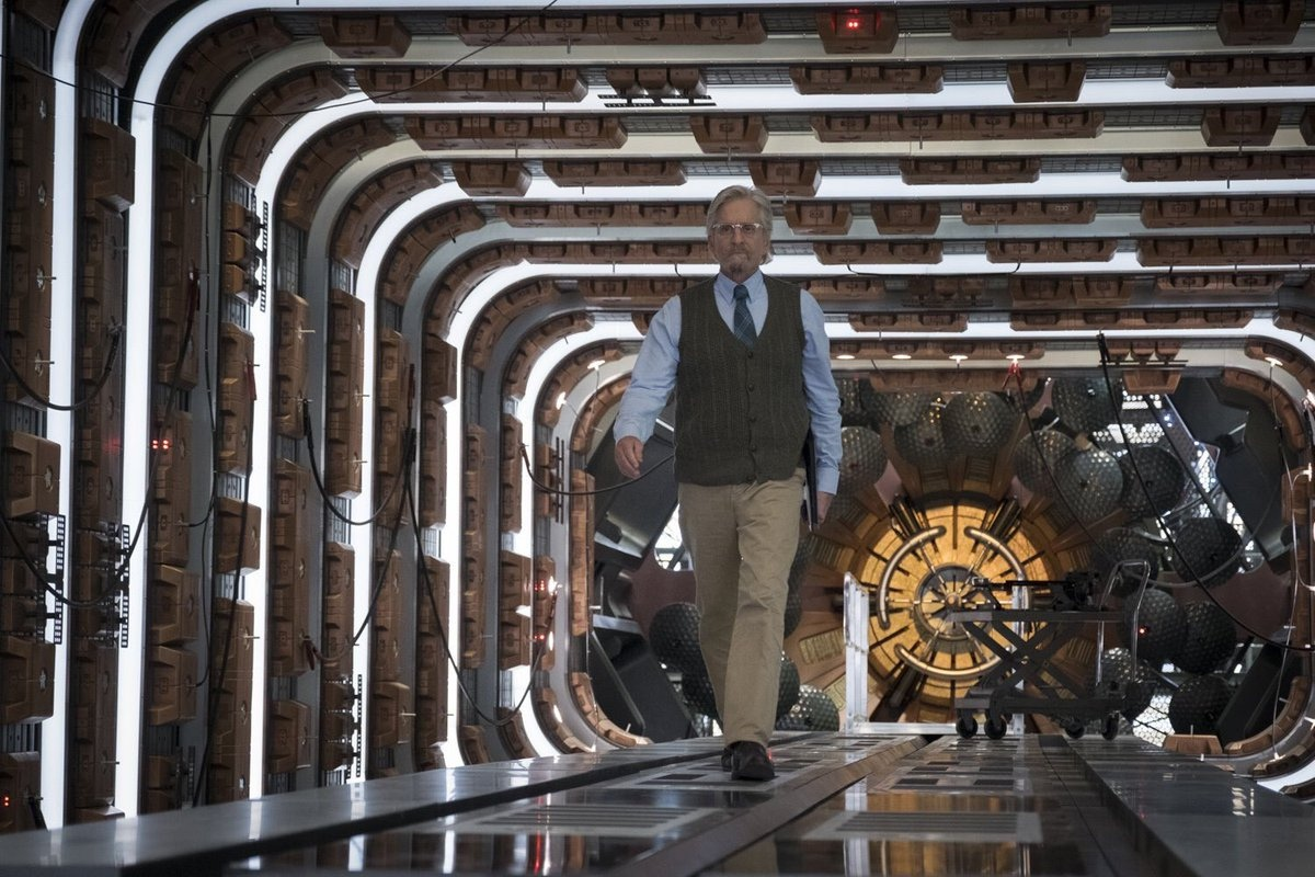 El Dr. Hank Pym (Michael Douglas) en Ant-Man and the Wasp (2018). Imagen: IMDb.com
