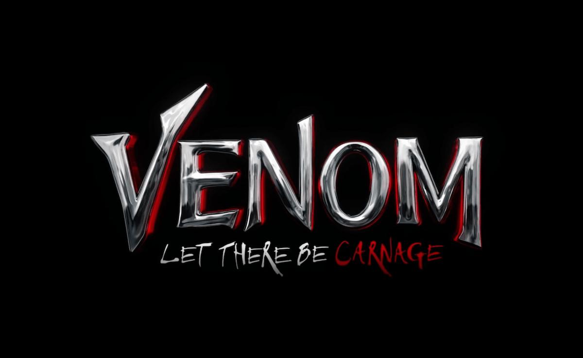 El logotipo de Venom: Let There Be Carnage (2021). Imagen: bloody-disgusting.com