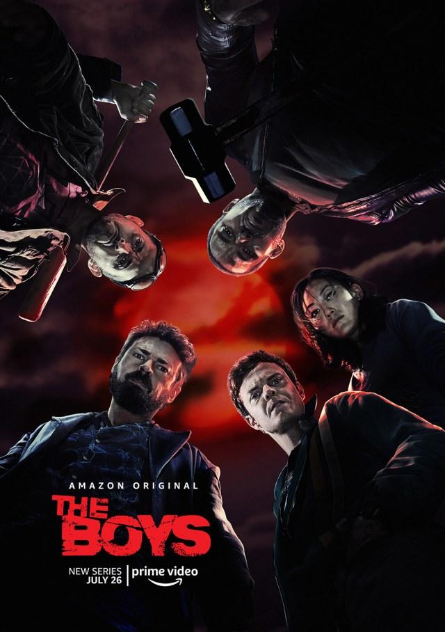 Póster de la temporada 1 de The Boys. Imagen: impawards.com