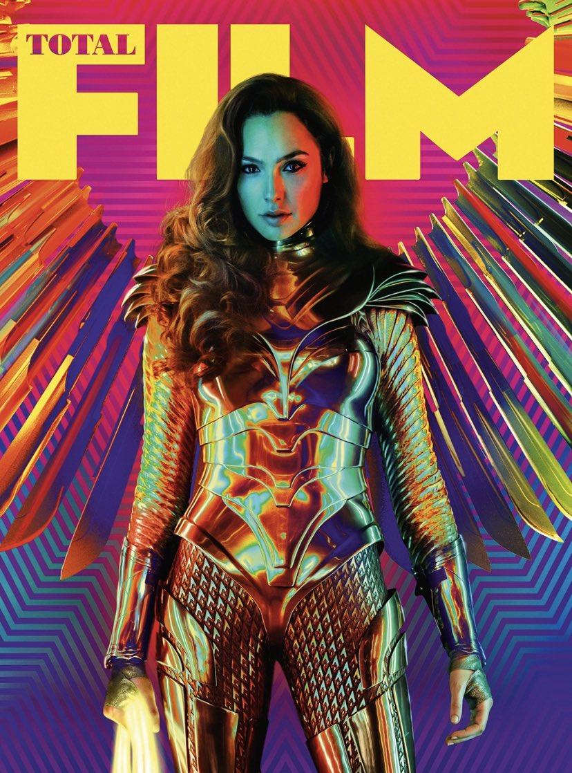 Gal Gadot como Wonder Woman en la portada para subscriptores de Total Film. Imagen: Gal Gadot Twitter (@GalGadot).