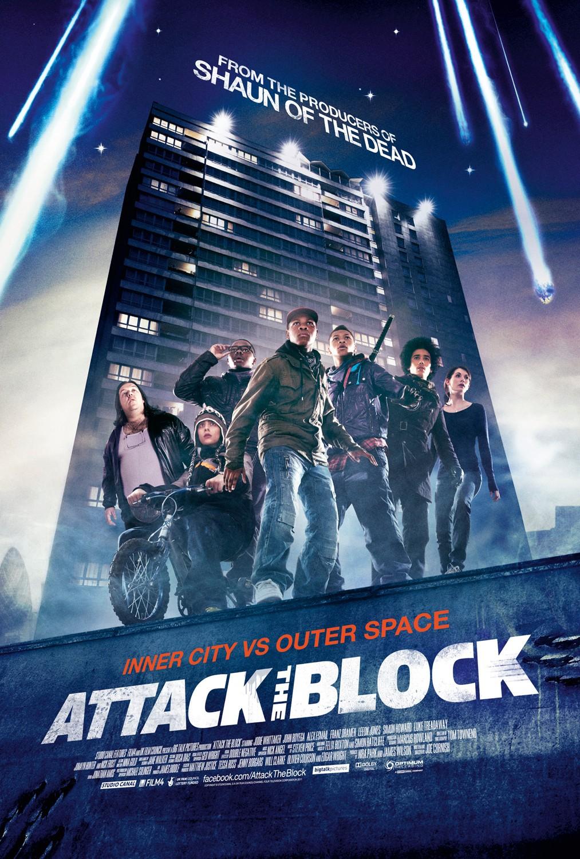 Póster de Attack the Block (2011). Imagen: impawards.com