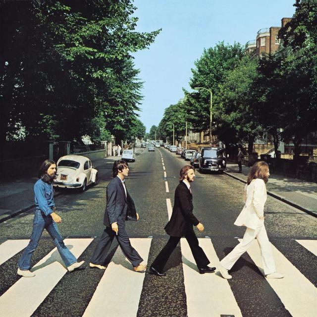 Portada del disco Abbey Road (1969) de The Beatles. Imagen: thebeatles.com