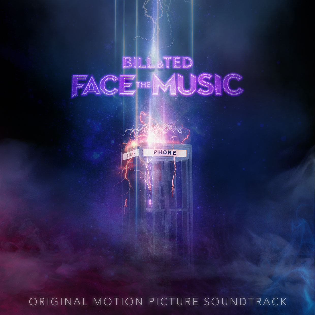 Portada de Bill & Ted Face the Music: The Original Motion Picture Soundtrack (2020). Imagen: 10K Projects/Billboard