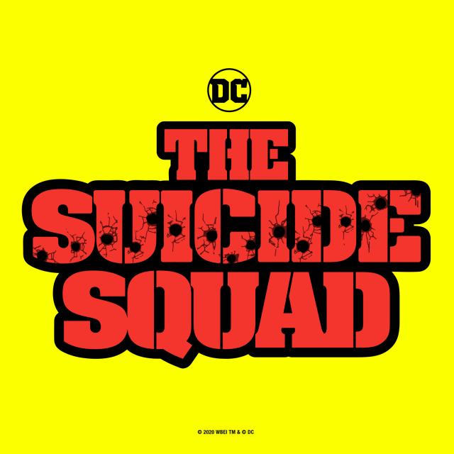 Logotipo en inglés de The Suicide Squad (2021). Imagen: James Gunn Twitter (@JamesGunn).