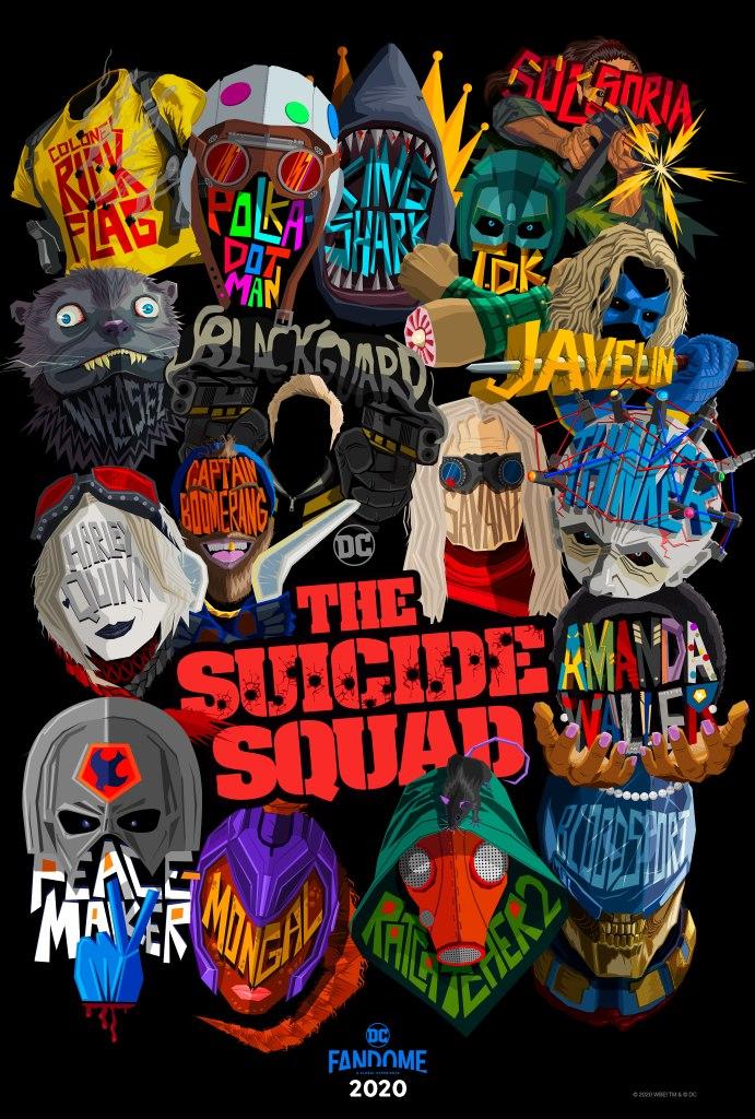 Póster de The Suicide Squad (2021). Imagen: James Gunn Twitter (@JamesGunn).