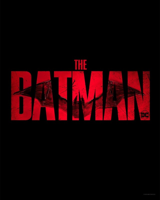 Logotipo de The Batman (2021). Imagen: dccomics.com