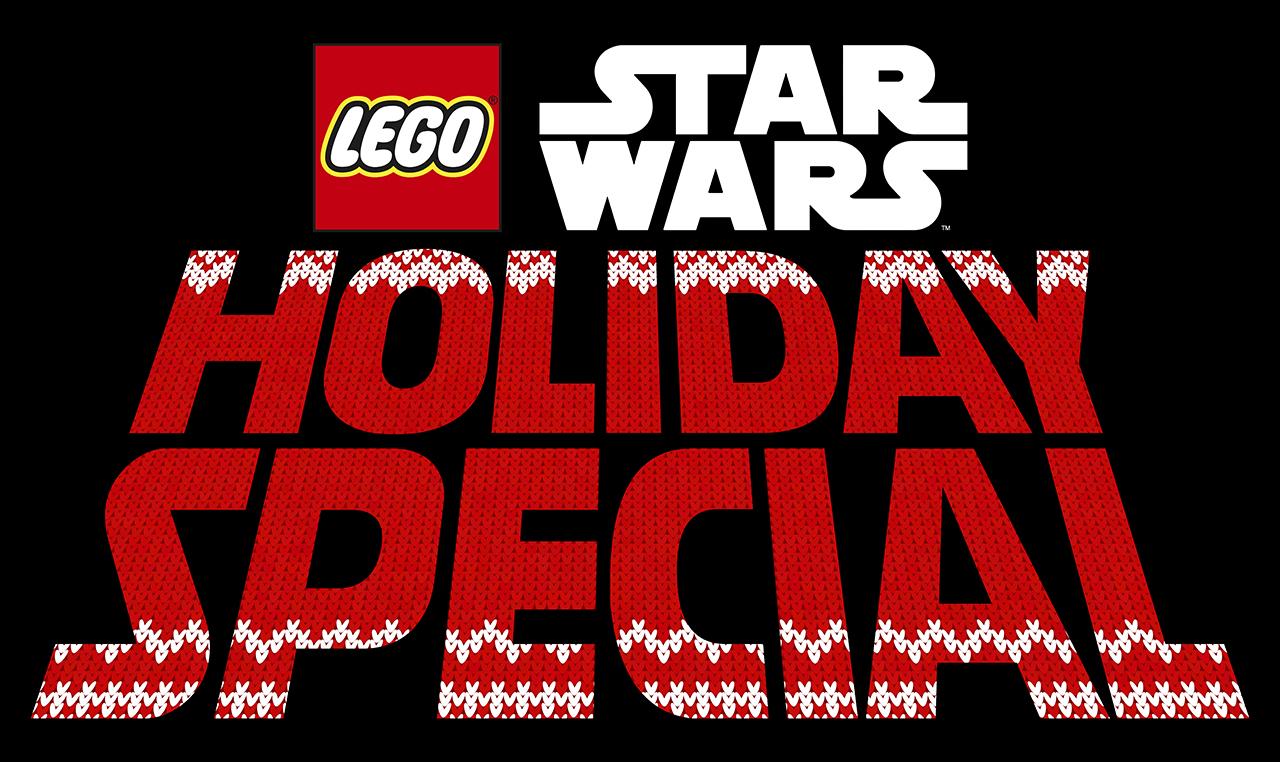 Logotipo de The LEGO Star Wars Holiday Special (2020). Imagen: StarWars.com