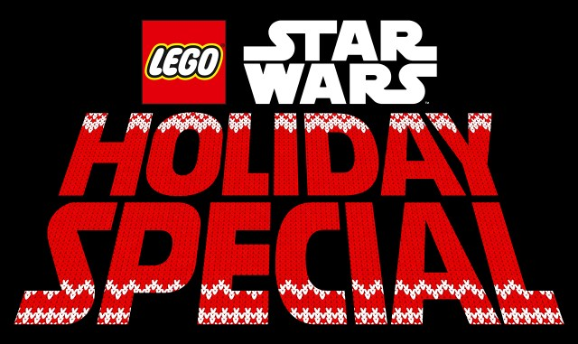 Logotipo de The LEGO Star Wars Holiday Special (2020). Imagen: StarWars.com
