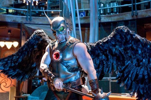 Michael Shanks como Hawkman en Smallville (2001-2011). Imagen: pinterest.com