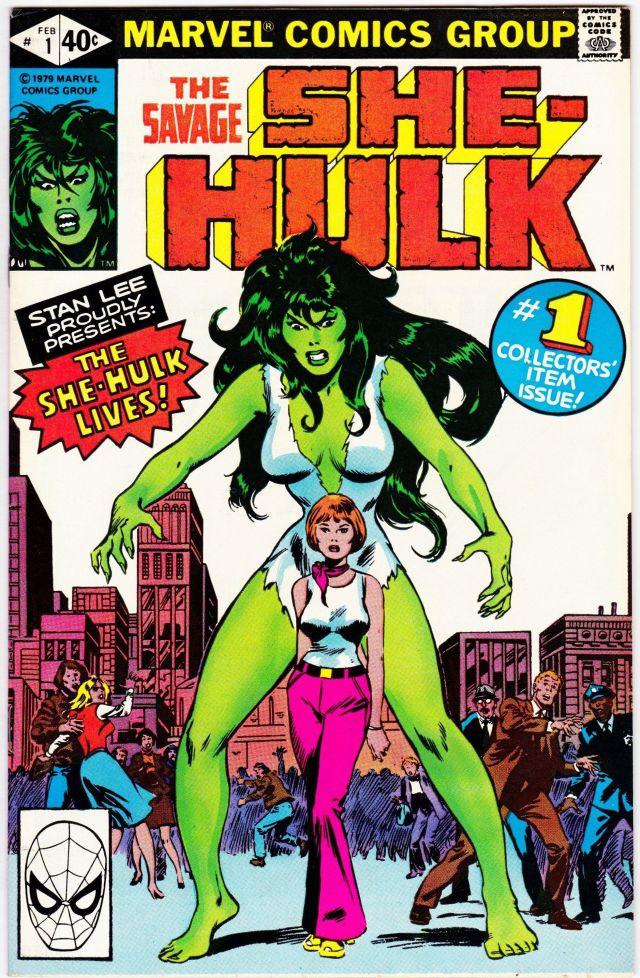 Portada de The Savage She-Hulk #1 (febrero de 1980). Imagen: pinterest.com