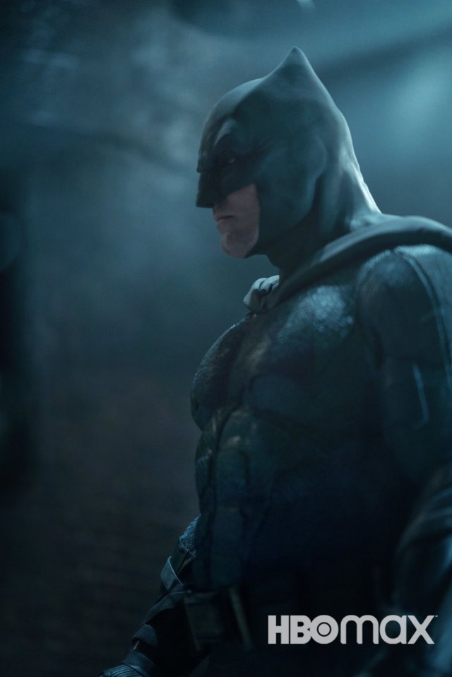 Ben Affleck como Batman en Zack Snyder's Justice League (2021). Imagen:  The Director's Cut of Justice League Twitter (@snydercut).