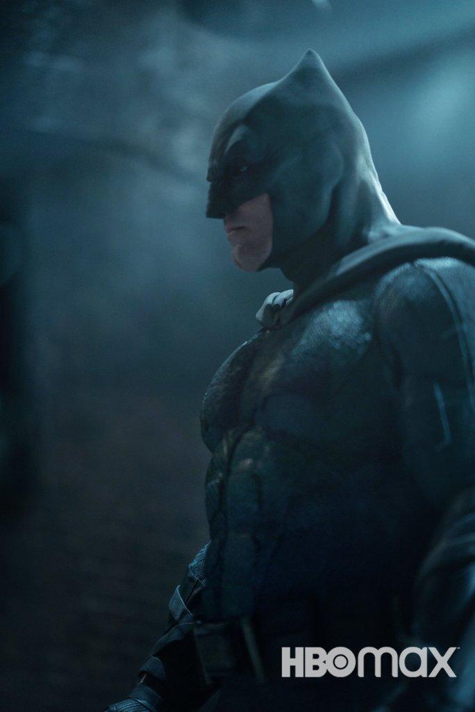 Ben Affleck como Batman en Zack Snyder's Justice League (2021). Imagen:  The Director's Cut of Justice League Twitter (@snydercut).