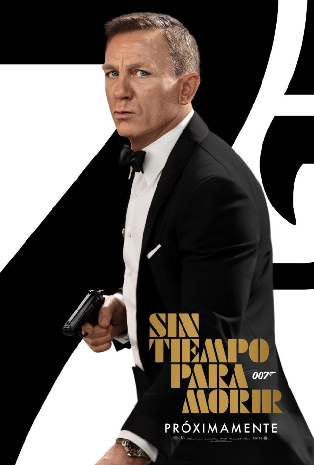 Póster en español de No Time to Die (2020). Imagen: 007.com