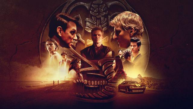 Arte promocional de la temporada 2 de Cobra Kai. Imagen: fanart.tv
