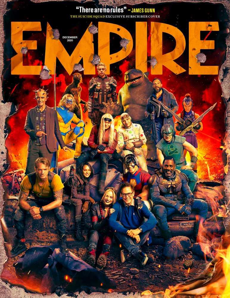 Portada para subscriptores de Empire (diciembre de 2020). Imagen:  Empire Magazine