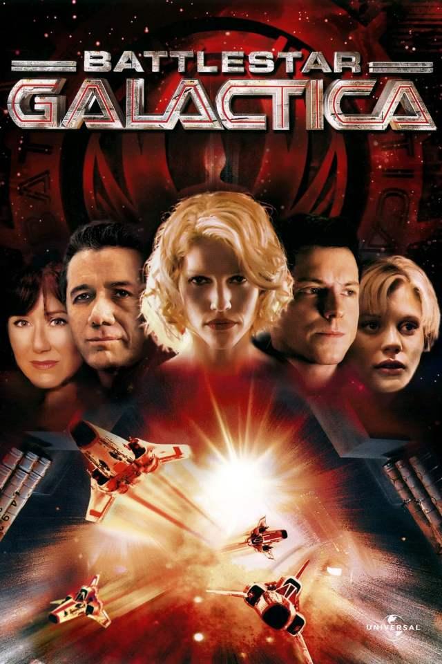 Arte de la miniserie Battlestar Galactica (2003). Imagen: themoviedb.org