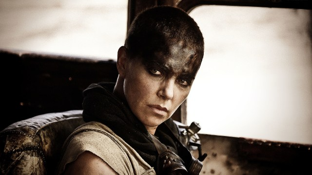 Charlize Theron como Imperator Furiosa en Mad Max: Fury Road (2015). Imagen: fanart.tv