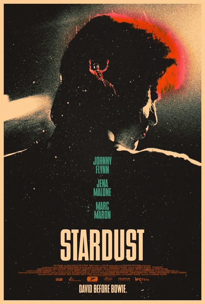 Póster de Stardust (2020). Imagen: impawards.com