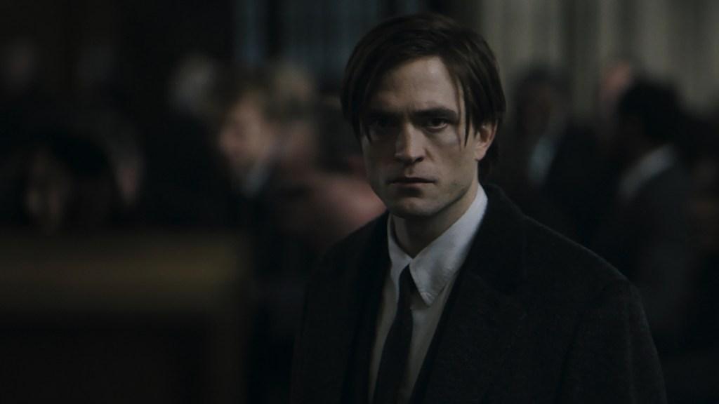 Robert Pattinson como Bruce Wayne en The Batman (2021). Imagen: fanart.tv