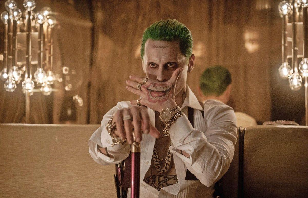 The Joker (Jared Leto) en Suicide Squad (2016). Imagen: Warner Bros. Entertainment