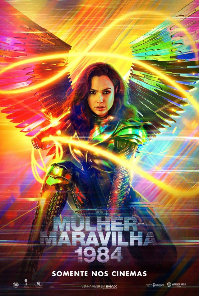 Póster brasileño de Wonder Woman 1984 (2020). Imagen: impawards.com