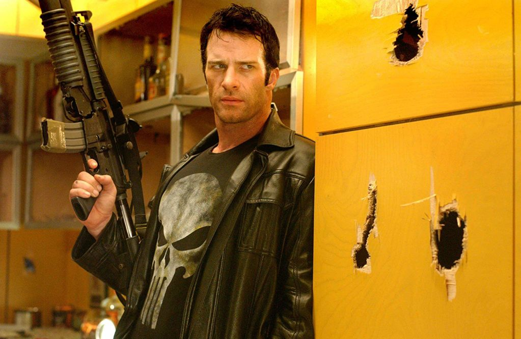Frank Castle/The Punisher (Thomas Jane) en The Punisher (2004). Imagen: pinterest.com
