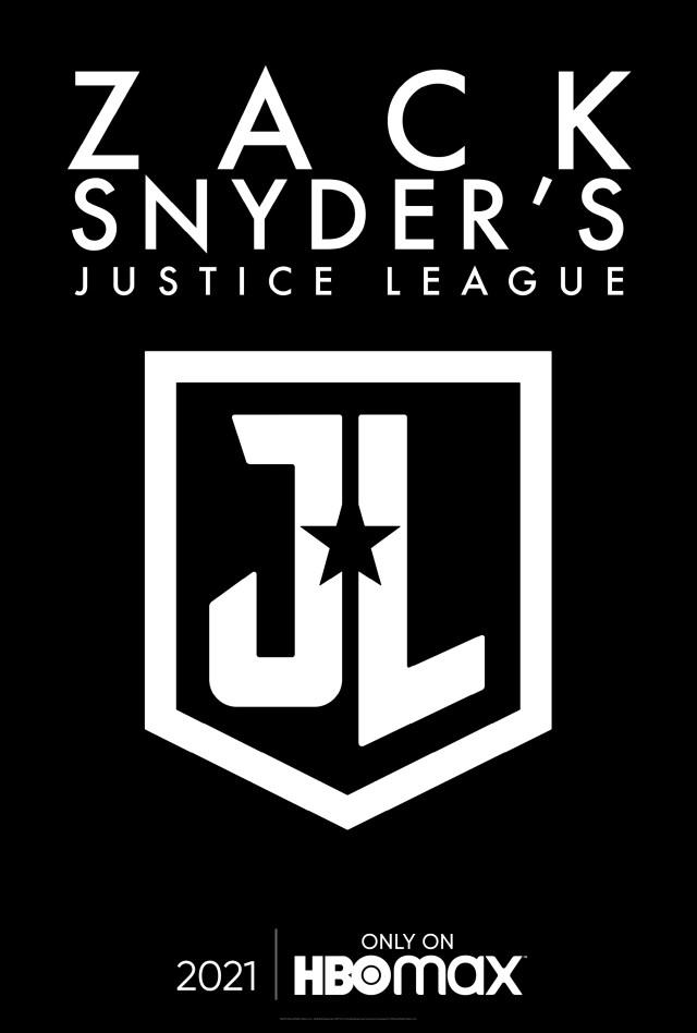 Póster de Zack Snyder's Justice League (2021). Imagen: Zack Snyder Twitter (@ZackSnyder).