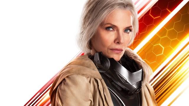 Janet Van Dyne (Michelle Pfeiffer) en Ant-Man and the Wasp (2018). Imagen: fanart.tv