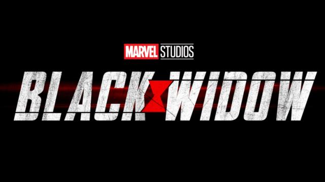 Logotipo de Black Widow (2021). Imagen: Marvel.com