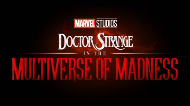 Logotipo de Doctor Strange in the Multiverse of Madness (2022). Imagen: Marvel.com