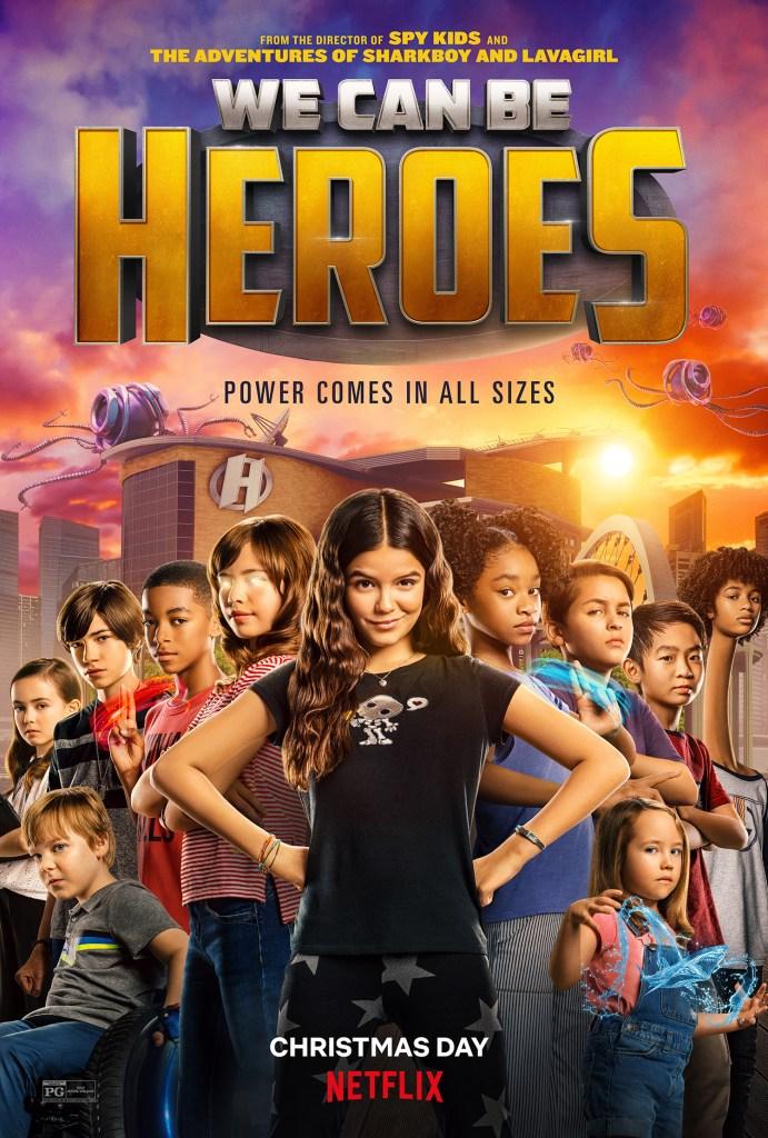 Póster de We Can Be Heroes (2020). Imagen: impawards.com