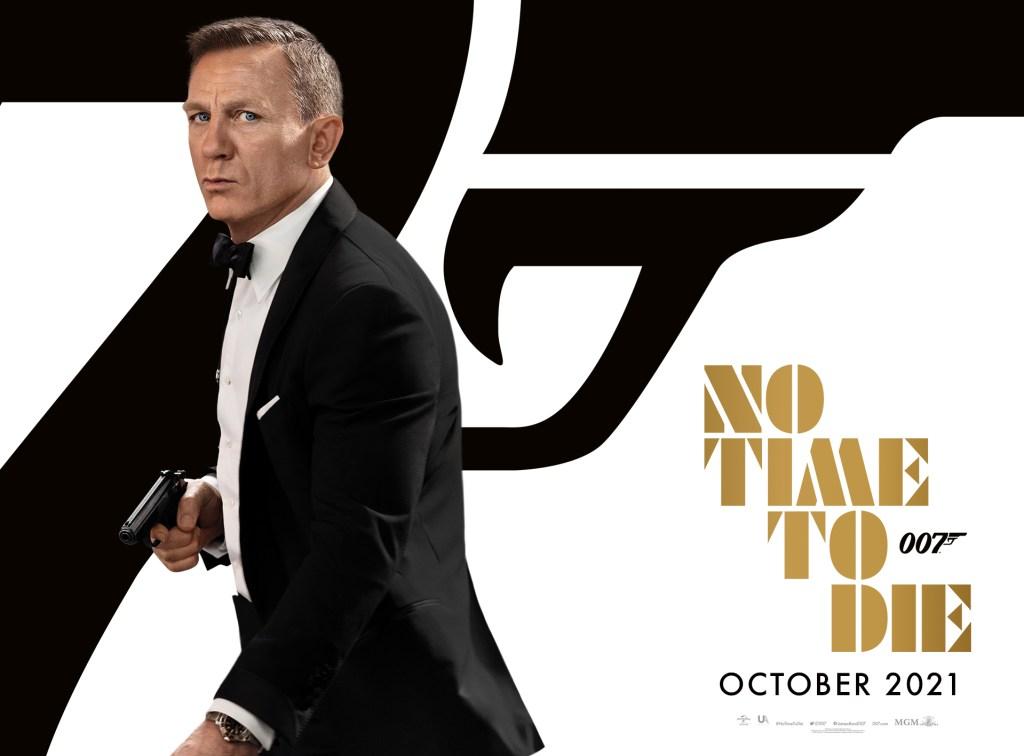 Daniel Craig como James Bond en No Time to Die (2021). Imagen: 007.com