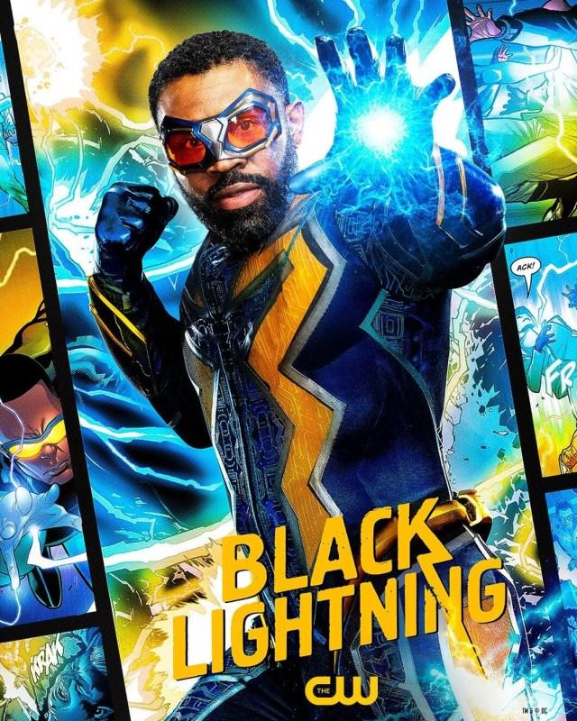 Póster de la temporada 4 de Black Lightning. Imagen: impawards.com