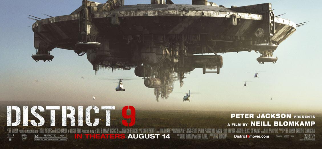 Póster de District 9 (2009). Imagen: impawards.com