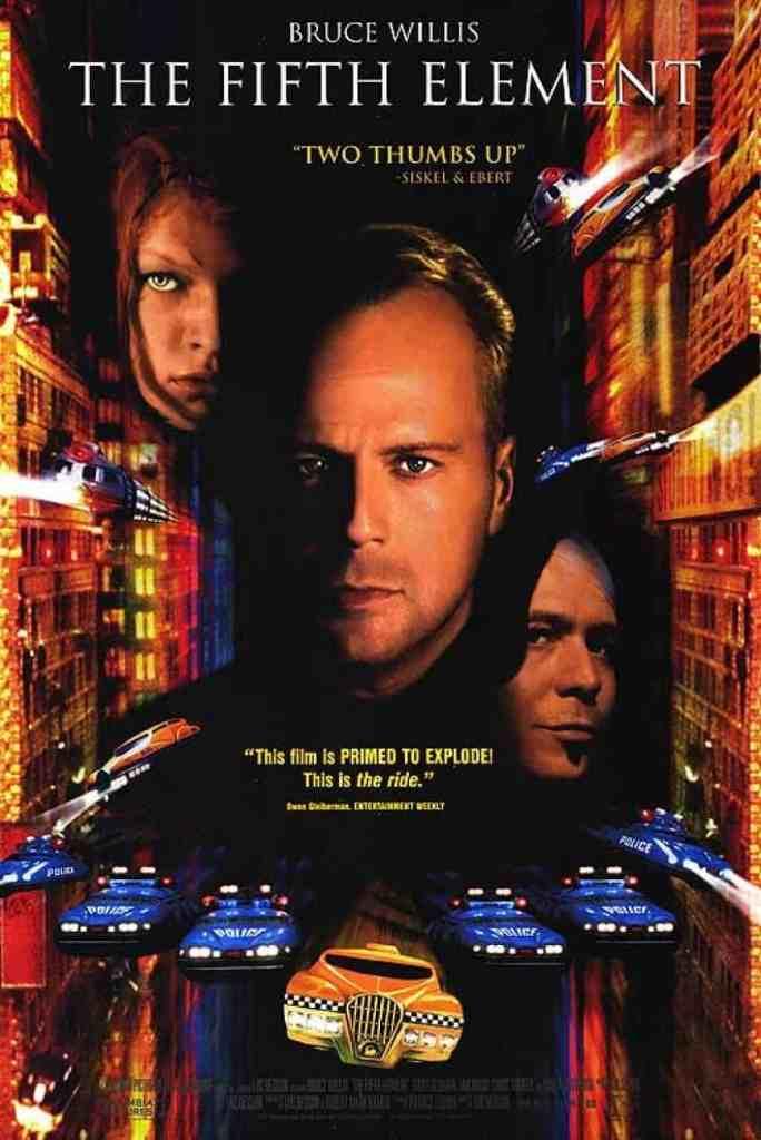 Póster de The Fifth Element (1997). Imagen: Comic Watch