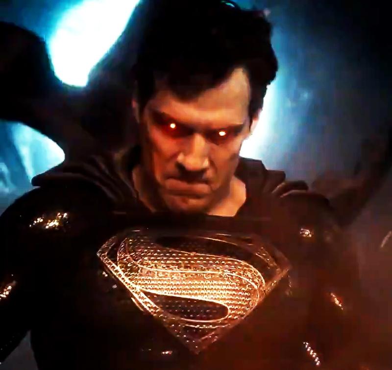 Superman (Hanry Cavill) en Zack Snyder's Justice League (2021). Imagen: thedirect.com