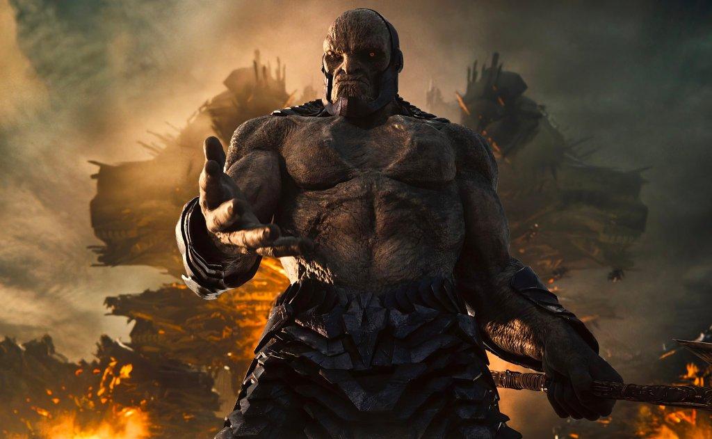 Darkseid (Ray Porter) en Zack Snyder's Justice League (2021). Imagen: Heroic Hollywood Twitter (@heroichollywood).