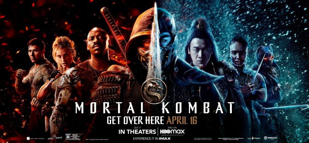 Póster de Mortal Kombat (2021). Imagen: Mortal Kombat Movie Twitter (@MKMovie).