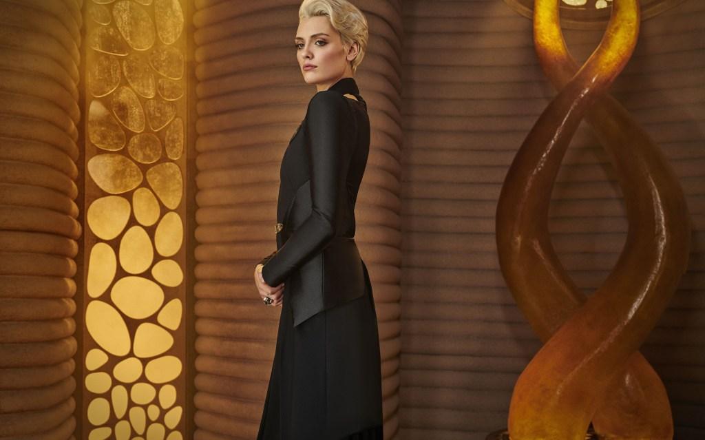 Wallis Day como Nyssa-Vex en Krypton (2018-2019). Imagen: dccomics.com