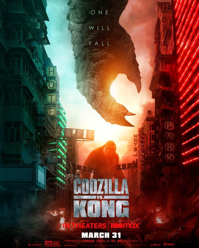 King Kong en un póster de Godzilla vs. Kong (2021). Imagen: impawards.com