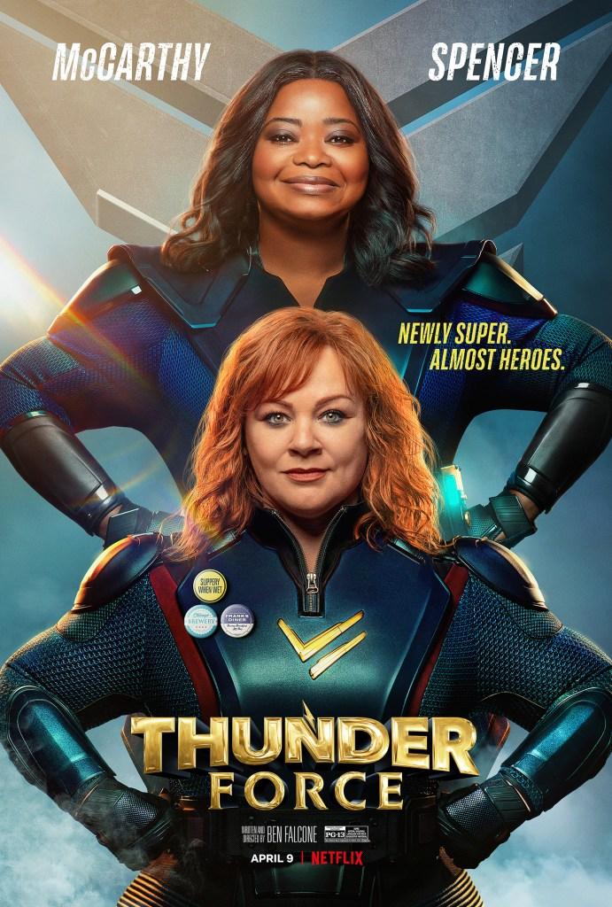 Póster de Thunder Force (2021). Imagen: impawards.com