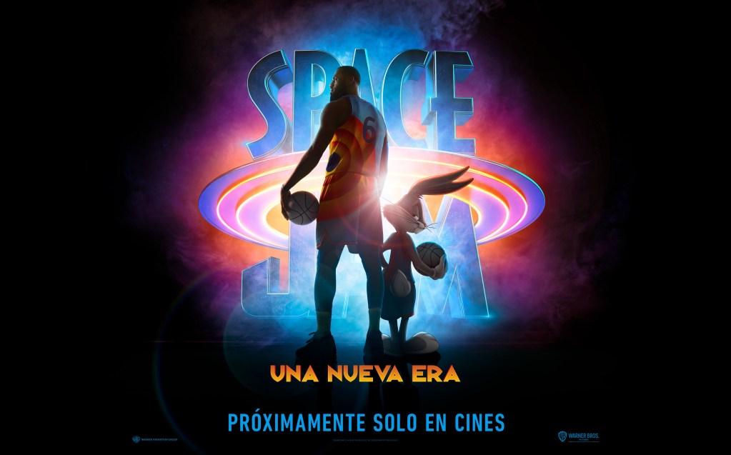 Póster en español de Space Jam: A New Legacy (2021). Imagen: WB Pictures Latam Twitter (@WBPicturesLatam).